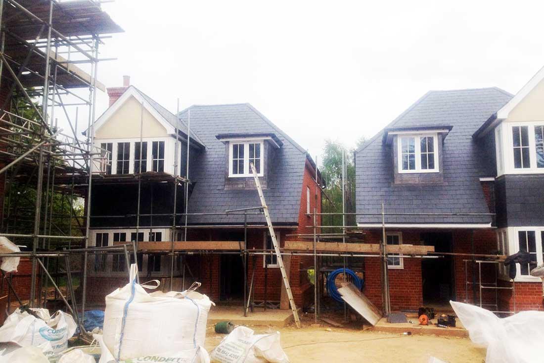 new build roofing in Sevenoaks Kent